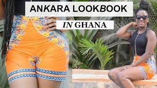 ANKARA LOOKBOOK || AFRICANPRINT LOOKBOOK || HOLIDAYS LOOKBOOK IN GHANA || ADEDE