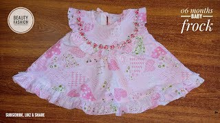 Easy & Beautiful Baby Frock Tutorial || amber beauty fashion