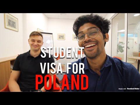 STUDENT VISA FOR POLAND 🇵🇱 #studyinpoland