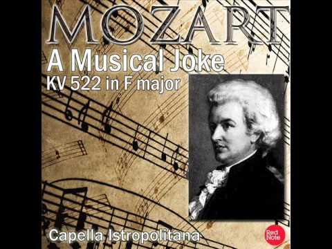 Mozart -  A Musical Joke, Kv  522 Complete
