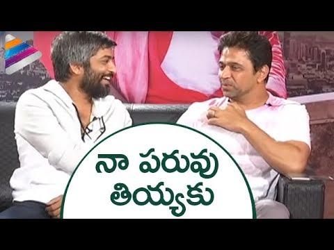 Arjun Funny Response to Hanu Raghavapudi   LIE Telugu Movie Team Interview   Nithin   Megha Akash