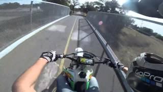BADASS CR250 Dirt bike Police Getaway