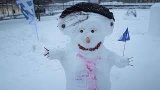 Liike Nytin lumiukko edustaa tulevaisuutta ja puhdasta ympäristöä!