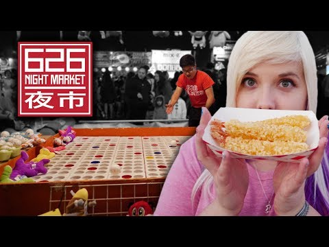 Carnival games and Asian food at 626 Night Market!