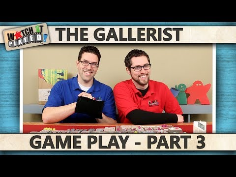 The Gallerist - Game Play 3