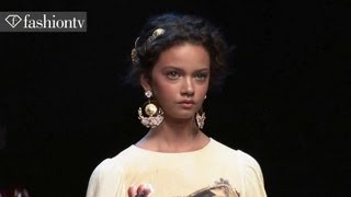 Dolce & Gabbana Spring/Summer 2014 FULL SHOW | Milan Fashion Week MFW | FashionTV