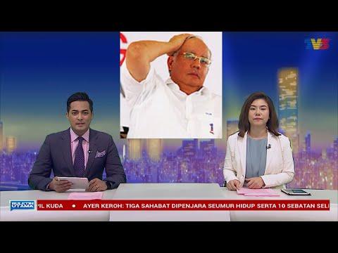 Bulletin utama TV3 selepas kekalahan Barisan Nasional