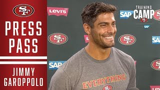 Jimmy Garoppolo: 'Now It's Time to Roll' | San Francisco 49ers