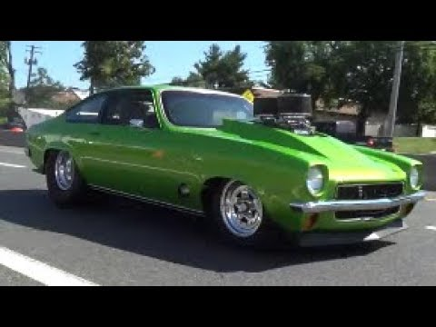 Pro Street Cars >> Vega Pro Street Leaving Show Dgtv Cars Youtube
