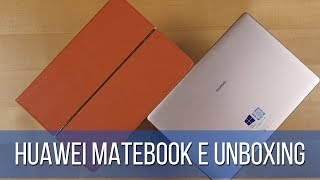 Huawei MateBook E Unboxing