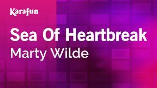 Karaoke Sea Of Heartbreak - Marty Wilde *