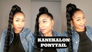 KANEKALON PONYTAIL || HOW TO