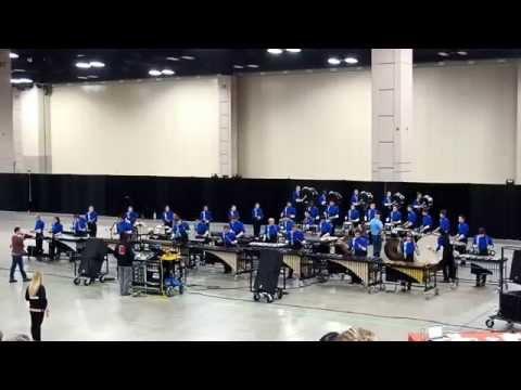2015 11 13 Richland High School Drumline at PASIC San Antonio TX