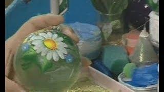 видео История возникновения елочных игрушек