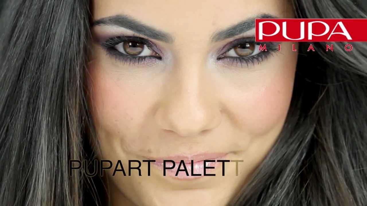 Conosciuto Trucco occhi scuri con palette PUPART N 003 | Make-up school by  ER07