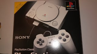 PlayStation  Classic : Unboxed By SOLID SNAKE