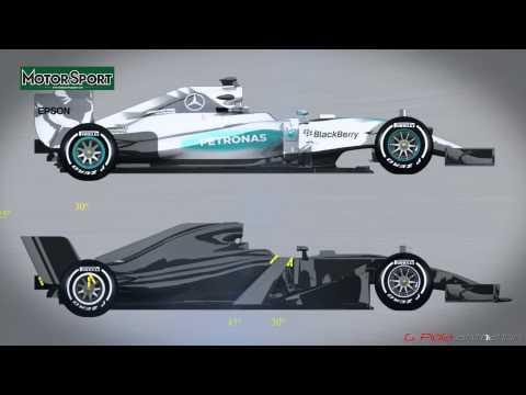 Resultado de imagen de El Mercedes de Fórmula 1 2017