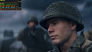 Call Of Duty: WWII ► i7-8700K @ 5,1GHz + 3,86GHz CL16 + GTX 1080Ti ◄ D-Day (1080p, Ultra)