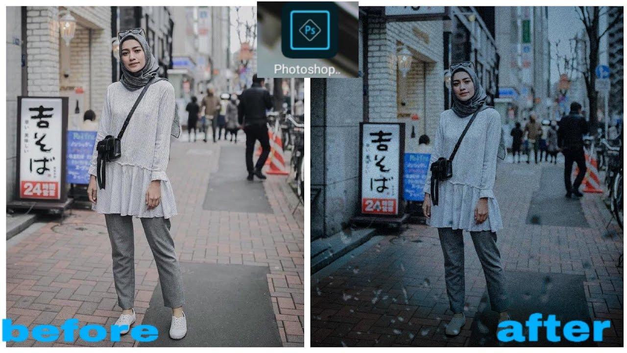 Cara edit foto menggunakan aplikasi Photoshop || ala ...