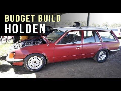 Parts bin budget Holden   Ford Barra power!