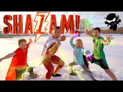 SHAZAM! Ninja Kidz Movie Remastered