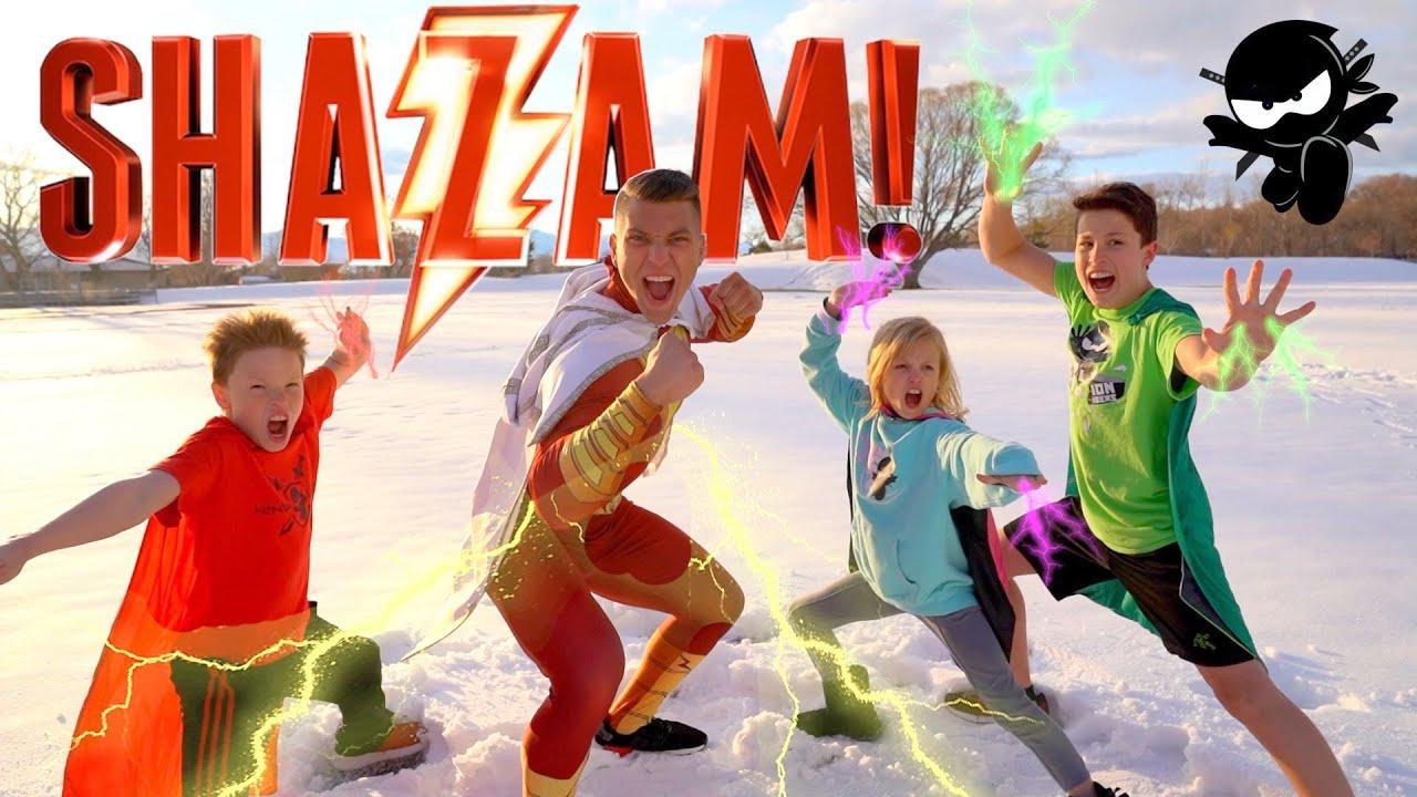 Download SHAZAM! NinjaZ Movie Remastered