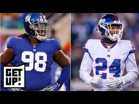 Giants trade Damon Harrison and Eli Apple for draft picks; who's next? | Get Up!