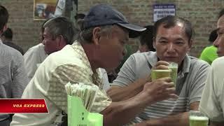 WHO: Người Việt uống bia quá nhiều (VOA)