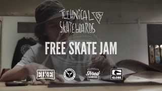 Technical Free Skate Jam : BOONIES