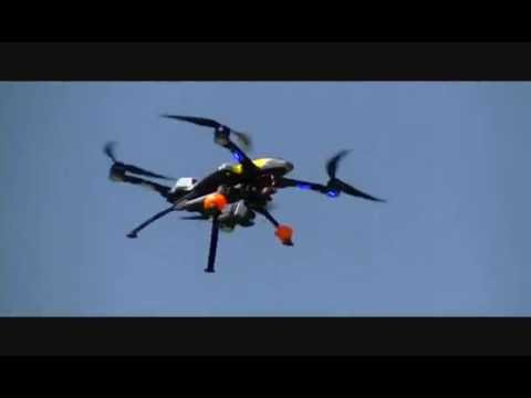 Maiden Flight Of The HeliMax Form 500 Quad - YouTube
