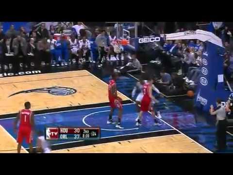 Orlando Magic Vs Houston Rockets - Game Recap & Highlights - 26/12/2011