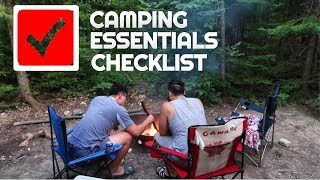 Non Campers Guide t๐ Camping   Top 10 Camping Essentials Checklist