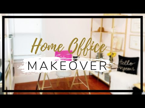 Home Office Makeover 2019