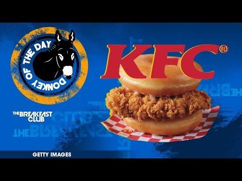 KFC Perpetuates Stigma Of Unhealthy America By Releasing Donut Chicken Sandwich