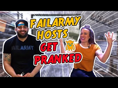Stalking Hosts on a Live Broadcast (FailArmy) - Ownage Pranks