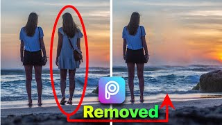 How to remove OBJECT/PERSON iฑ PicsArt | how to erase something from a photo