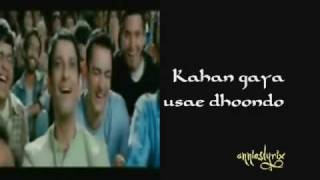 Behti Hawa Sa Tha Woh with lyrics on screen (3 Idiots) HQ