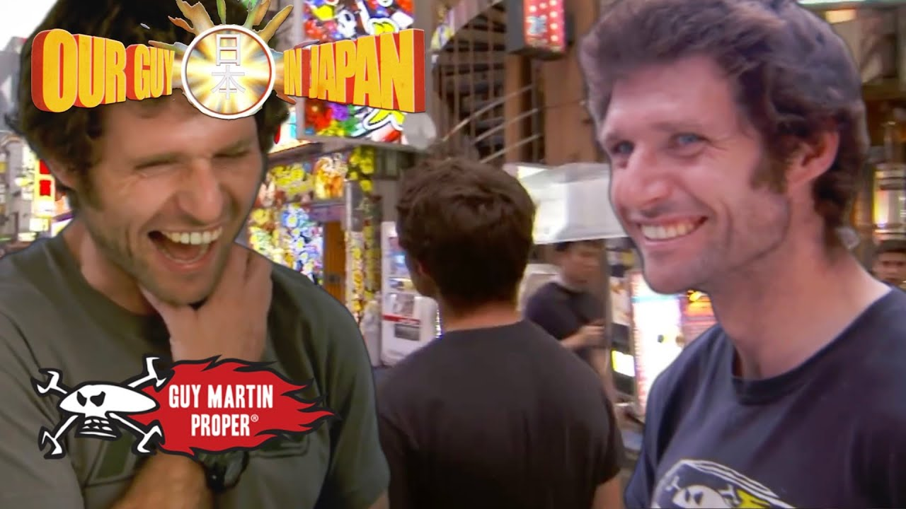 Guy is AMAZED with everything Japanese - Our Guy In Japan UNSEEN footage | Guy Martin Proper