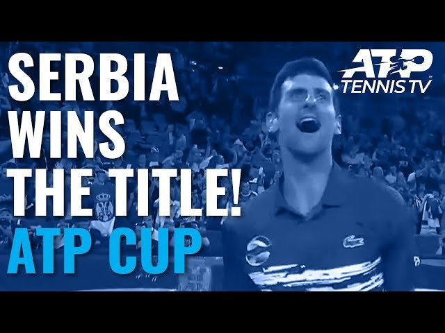 Serbia Wins the ATP Cup!