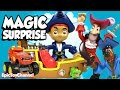 SURPRISE TOYS MAGIC Where is Disney Pirate Jake? + Paw Patrol, Blaze and a Disney CARS Toy Surprise
