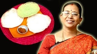 Appam Dosa Recipe | Mallika Badrinath Recipes | Dosai, South Indian Food