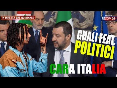 Cara Italia: Ghali feat. ThePolitici (2 milioni di views su FB!)