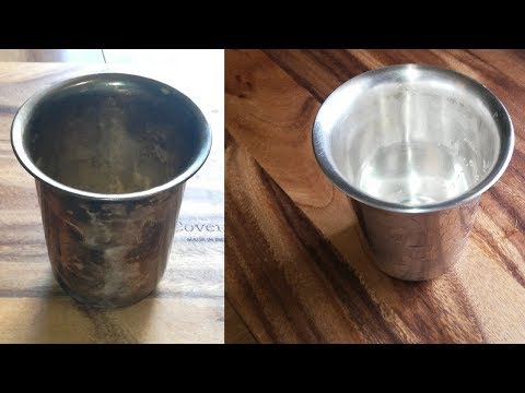 Sliver cleaning | silver cleaning at home | Easy sliver utensils cleaning at home