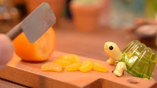 How to make a delicious health drink. Stop motion cooking / miniature