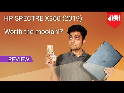 2019 HP Spectre X360 Laptop Review