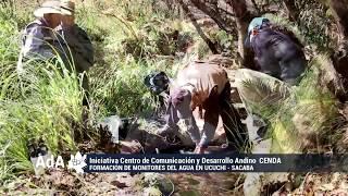 Iniciativa  Monitoreo comunitario del agua en las nacientes del río Rocha   CENDA