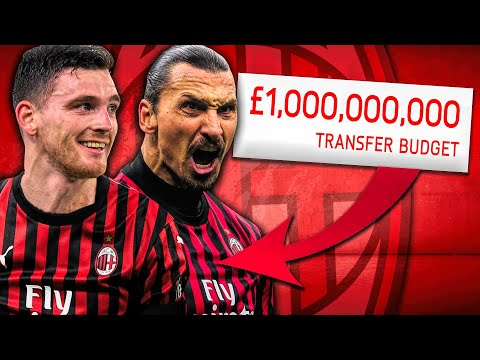 1,000,000,000 AC Milan Takeover Challenge! FIFA 20 Career Mode