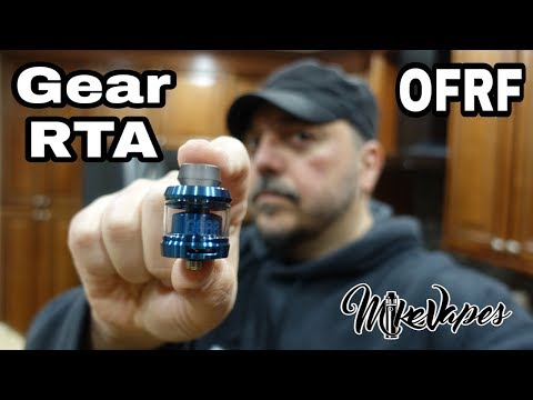 Gear Single Coil RTA By OFRF - Build & Wick - Mike Vapes