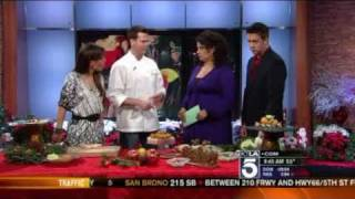 Chef Craig Strong Of Studio Restaurant At Montage Laguna Beach Makes Easy Appetizers On Ktla
