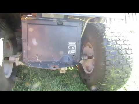 MTD Hydrostatic Transmission Issues YouTube